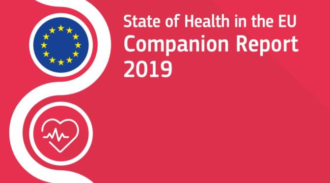 "Health: 2019 EU Report Features ""Digital Tools"" And ""Prevention"" As Keys For Improved Healthcare"