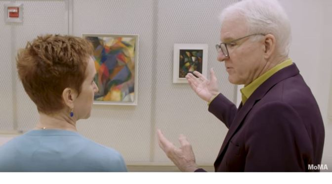 Paintings: How Comedian Steve Martin Looks At Abstract Art (MoMA Video)
