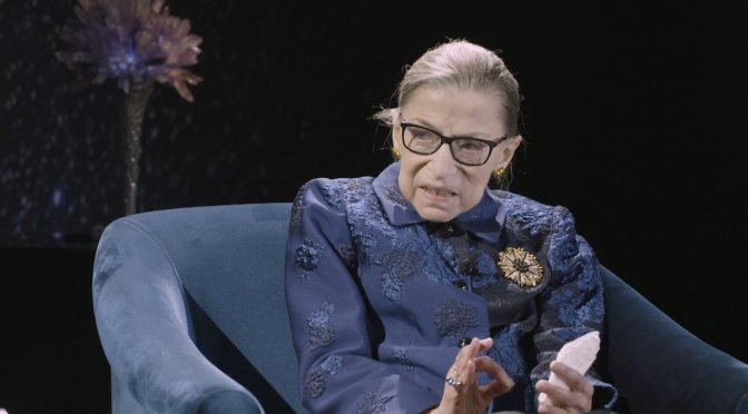 New Interviews: 86-Year Old Supreme Court Justice Ruth Bader Ginsburg (BBC Podcast)