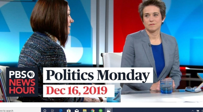 "Politics: Tamara Keith And Amy Walter In ""Politics Monday"" (PBS Video)"