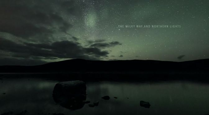 "New Timelapse Videos: ""The Milky Way And Northern Lights"" By Timo Oksanen"