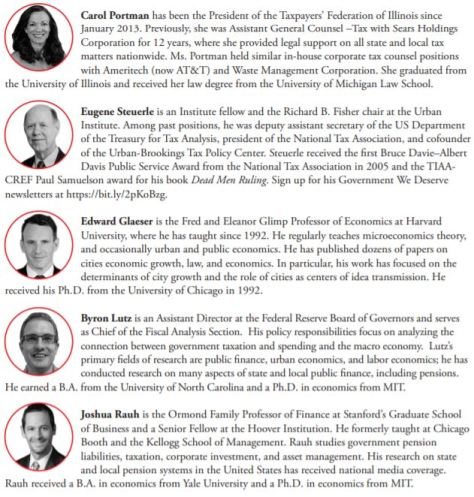 The Pension Crisis University of Chicago Debat November 2019 Program pg 2