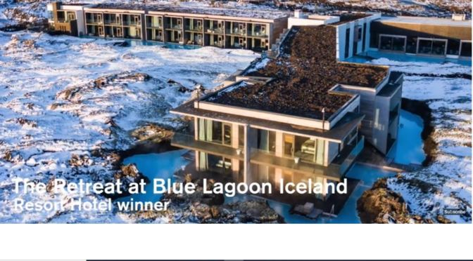 "Destination Resorts: 2019 Design Winner ""The Retreat At Blue Lagoon Iceland"" (Dezeen Video)"