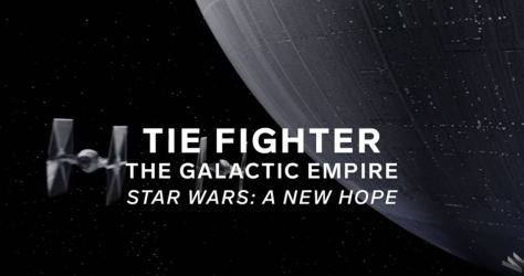 Tie Fighter The Galactic Empire Star Wars A New Hope