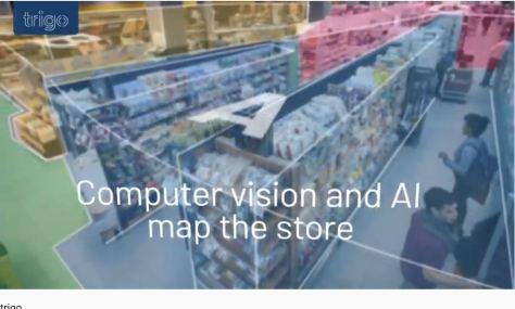 Trigo Vision Technology Computer Vision + AI Retail Store