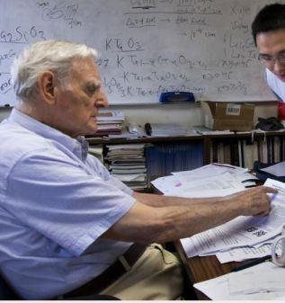 Univ of Chicago Professor John Goodenough Wins 2019 Nobel Prize in Chemistry