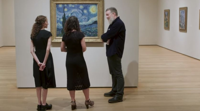 "Museum Insider: Van Gogh's ""Starry Night"" As Seen By An Astrophysicist (MOMA/BBC Video)"