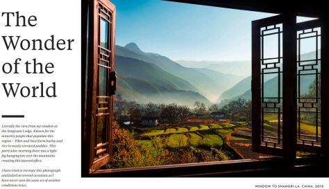 Window to Shangri-La China 2013 Michael Yamashita National Geographic 2019