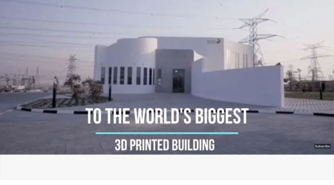 "Homebuilding: World's Biggest ""3D Printed"" Building Completed"