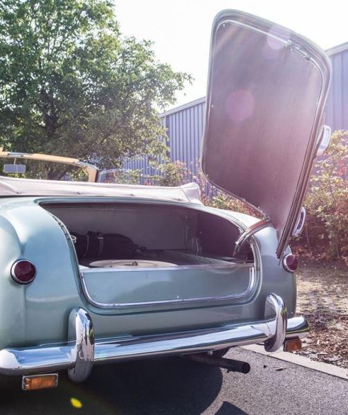 1952 Siata Daina Farina Cabriolet trunk Classic Driver