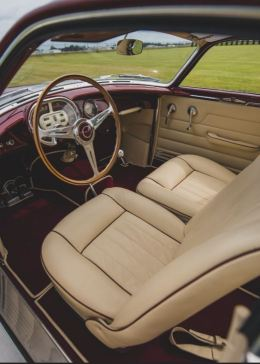 1953 Fiat 8V Supersonic by Ghia Interior RM Sotheby's