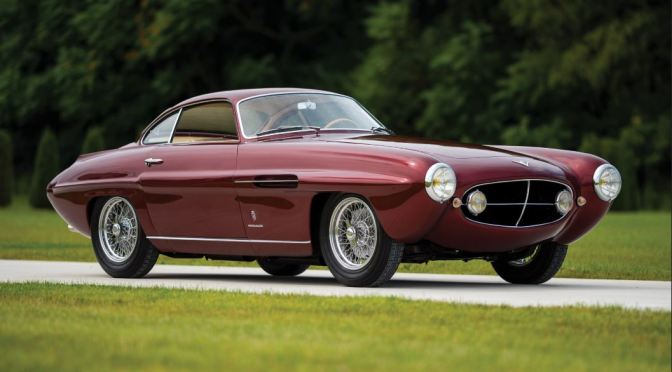 "Rare Classic Cars: ""1953 Fiat 8V Supersonic"" By Ghia"