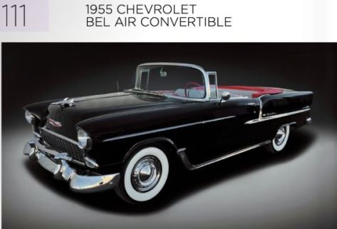 1955 Chevrolet Bel Air Convertible RM Sotheby's