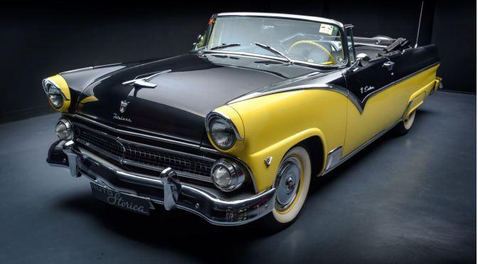 "American Classics: ""1955 Ford Fairlane Sunliner Convertible"""