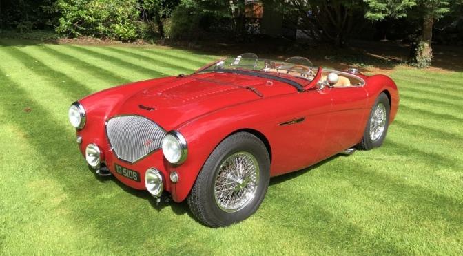 "1950's English Sports Cars: ""1956 Austin-Healey BN2"""