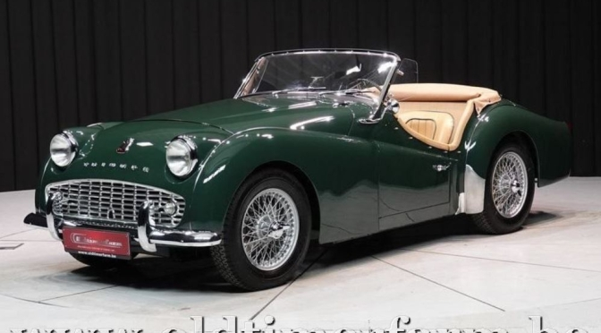 "British Sports Cars: ""1959 Triumph TR3"" Roadster"