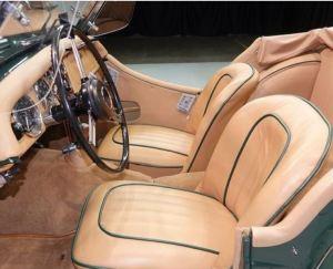 1959 Triumph TR3 Interior Classic Driver