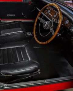 1966 Sunbeam Tiger Alpine 260 Interior Classic Driver
