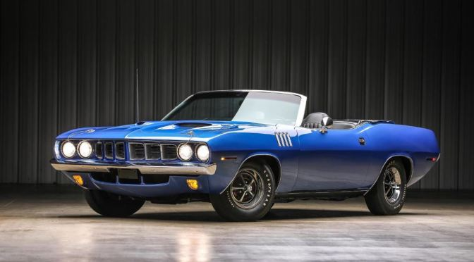 "Classics: ""1971 Plymouth Barrauda Convertible"""