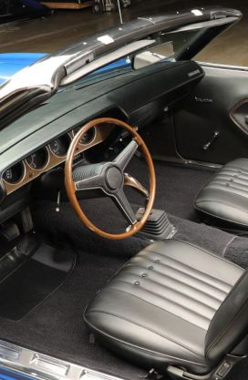1971 Plymouth Barracuda Interior Classic Driver