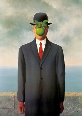 René Magritte, The Son of Man, 1964