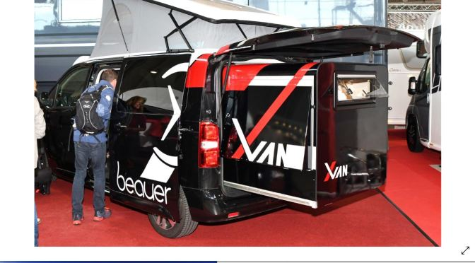 "Camper Trends: ""Beauer X-Van"" Telescopes To Larger Size With Push Of A Button"
