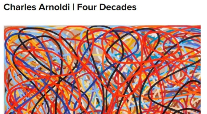 """Top New Exhibitions: """"Charles Arnoldi 