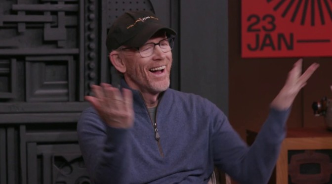Video Interviews: 65-Year Old Director Ron Howard At Sundance Film Festival