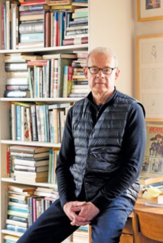 Don Gillmor in his home office Photograph by May Truong Maclean's Magazine January 8 2020