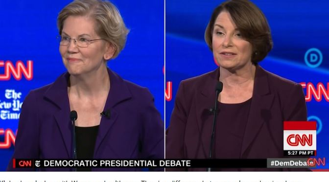 "2020 Candidates: New York Times Endorses ""Both"" Amy Klobuchar and Elizabeth Warren For President"