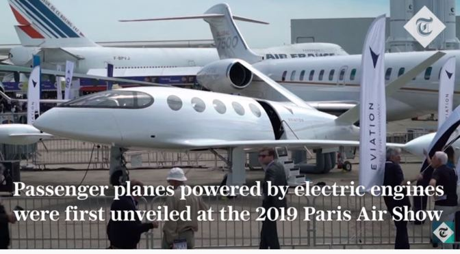 "Air Travel: Electric Planes From ""Eviation"" Could Be Flying In UK In 2 Years"
