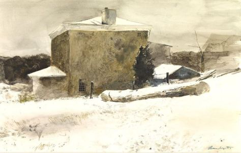 Firewood Study for Groundhog Day 1959 Andrew Wyeth