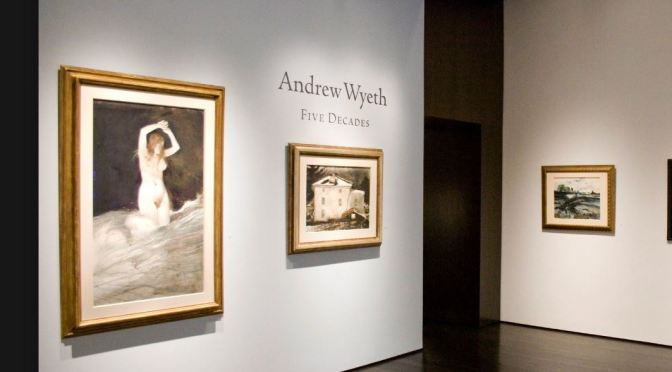 New Exhibitions: Painter Andrew Wyeth (1917-2009) – The Forum Gallery NYC