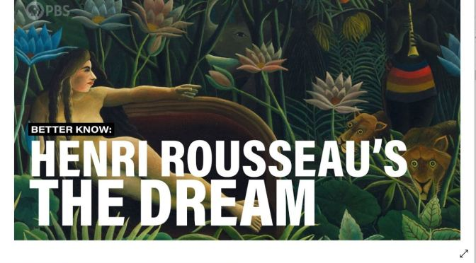 "Fine Art: The History Behind ""The Dream"" By Henri Rousseau (1910)"