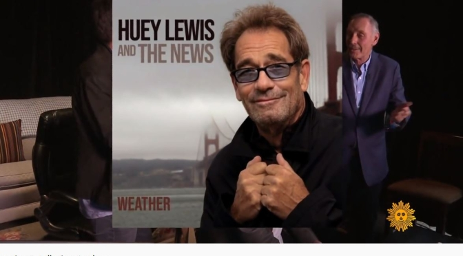 Video Profiles: 69-Year Old Singer Huey Lewis Talks About Hearing Loss (CBS)