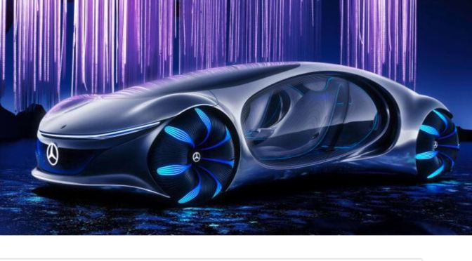 "Automobile Technology: Mercedes-Benz AVTR ""Avatar-Inspired"" Electric Car Unveiled (Video)"