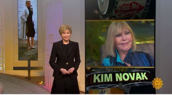 Video Profiles: 86-Year Old Actress Kim Novak On Her Love Of Artwork (CBS)