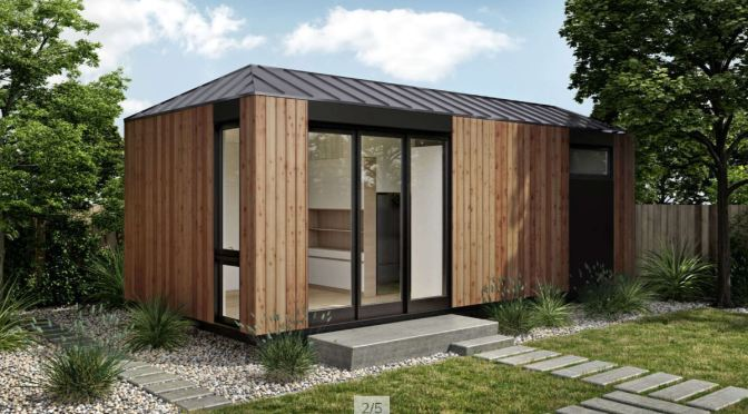 "Future Of Housing: The New ""LivingHome AD1"" Accessory Dwelling Unit (ADU) By Plant Prefab"