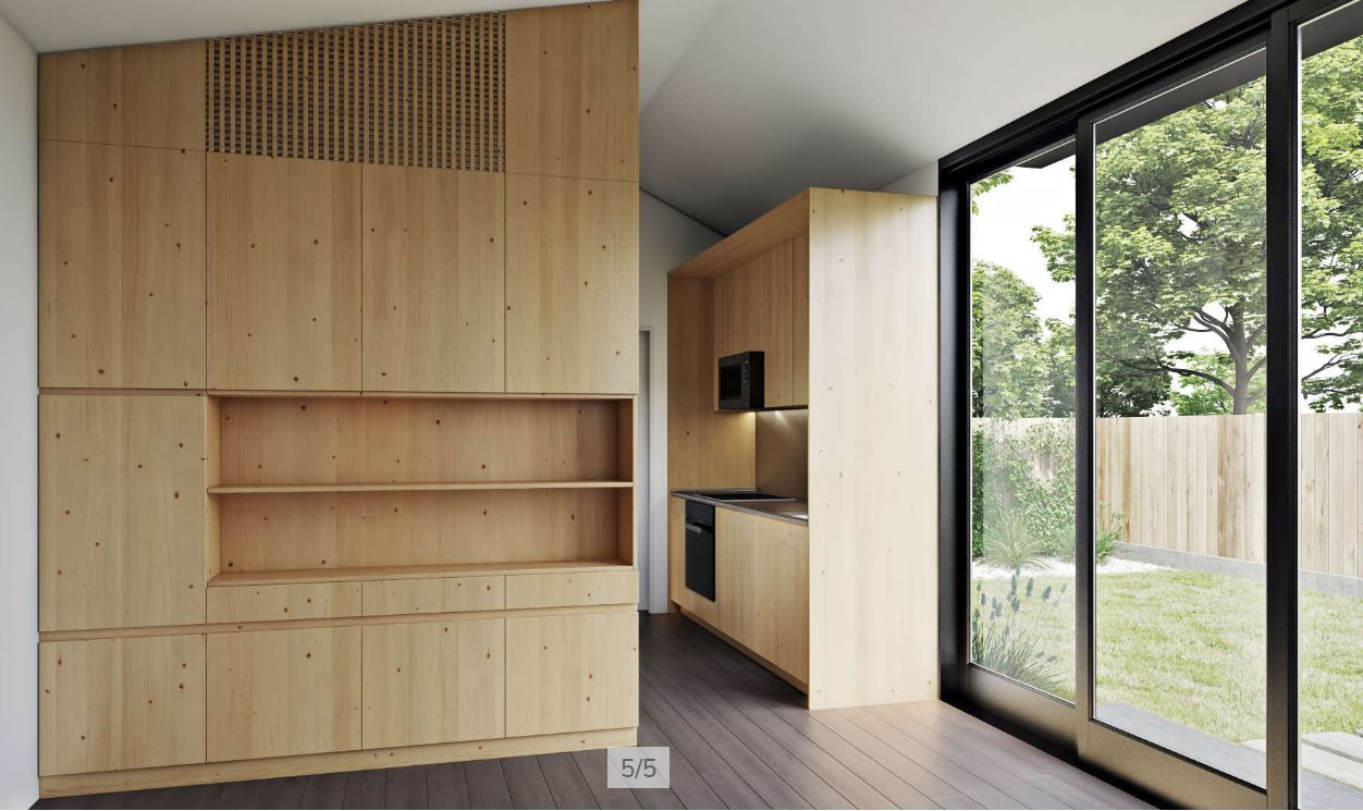 LivingHome AD1 - The Versatile Accessory Dwelling Unit Interior (ADU)