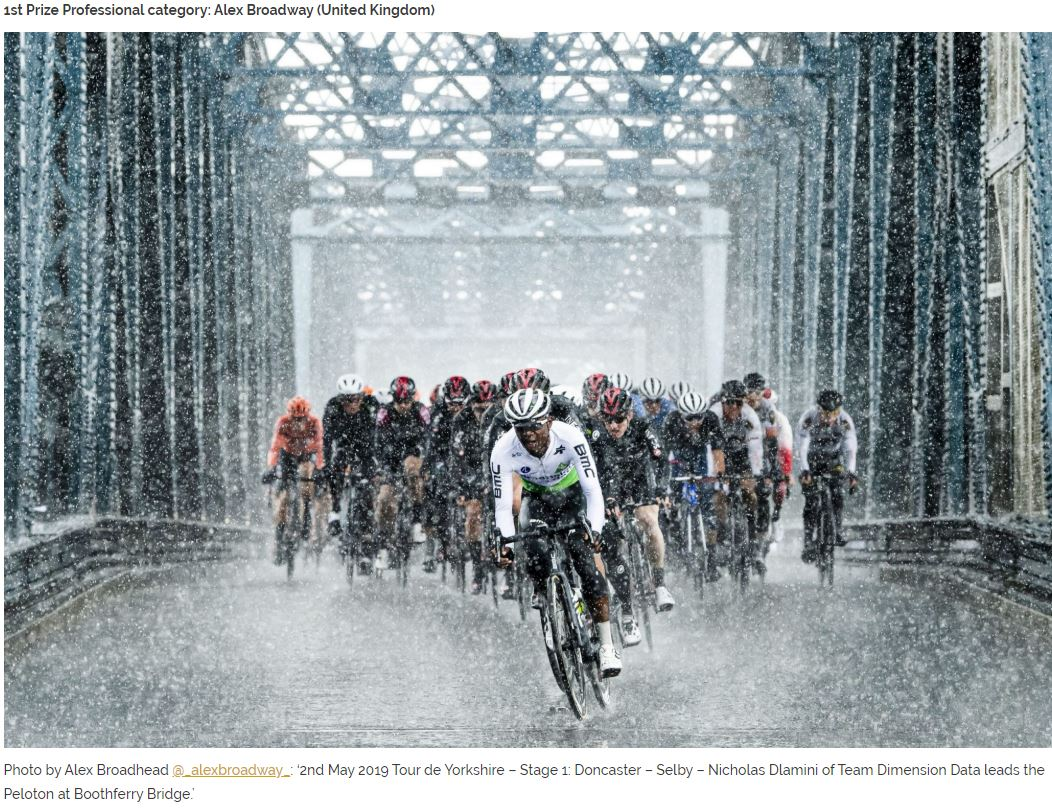 Mark Gunter 2019 Photographer of the Year 1st Prize Alex Broadway UK Tour De Yorkshire