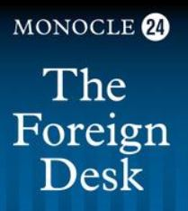 Monocle 24 The Foreign Desk logo