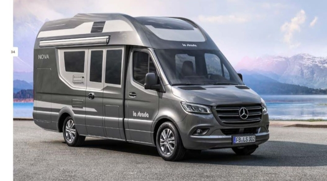 "Top New Camper Vans: ""NOVA EB"" From La Strada Is Luxury Spaciousness"