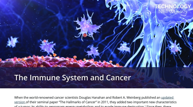 "Health: ""The Immune System And Cancer"""