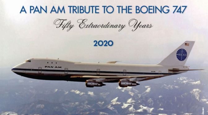 Air Travel History: Pan Am Celebrates 50 Years Since First 747 Flight (Jan 1970)