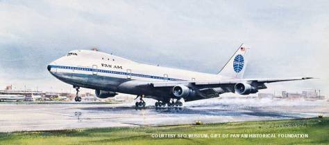 Pan Am 747 First Flights January 1970