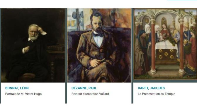 Fine Art: Paris Musées Makes Public Over   100,000 Images Including Monet, Cézanne And Courbet