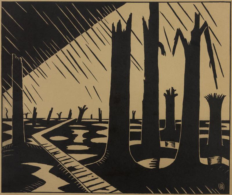 Paul Nash  Void of War, 1918.