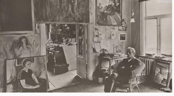 Art History: Peter Doig & Karl Ove Knausgård On Edvard Munch (Video)