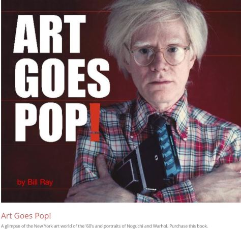 Photographer Bill Ray Art Goes Pop!