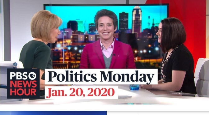 Politics: Tamara Keith And Amy Walter Discuss The 2020 Campaign (PBS Video)